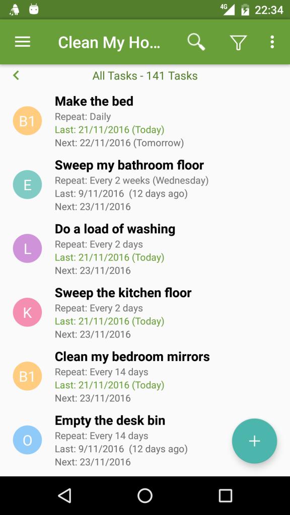 Clean My House UI